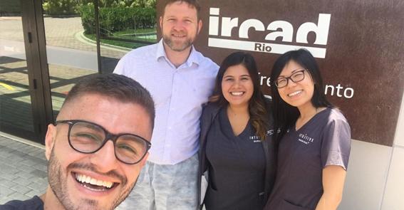 Dia 11 de dezembro de 2018 o IRCAD Rio inaugurou o primeiro Centro de Treinamento em Cirurgia Robótica no Brasil. Conheça!